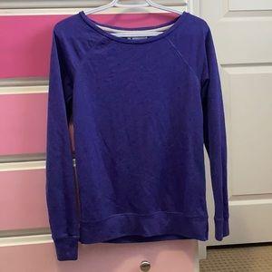Purple champion sweater sweatshirt